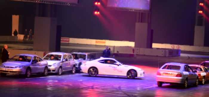 Tightest Ever 360 Degree Spin World Record With Subaru BRZ – Video