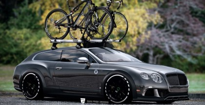 Would you go for a Bentley Continental Wagon