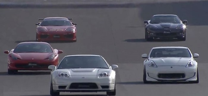 2011 Acura NSX vs Other Sports Cars – Video