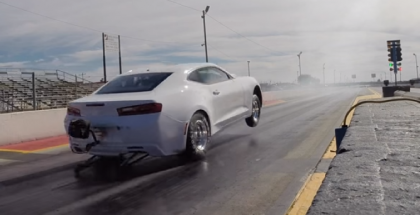 2016 COPO Camaro doing what it does best (1)