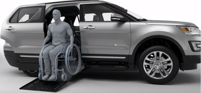2016 Ford Explorer Wheelchair Accessible Braunability Mxv Video Dpccars