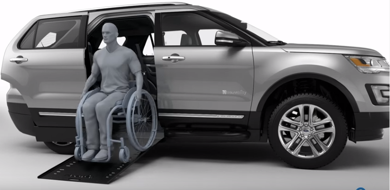 2016 Ford Explorer Wheelchair Accessible Braunability Mxv