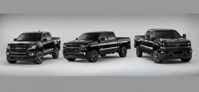 2016 midnight edition chevy colorado and silverado. Black Bedroom Furniture Sets. Home Design Ideas