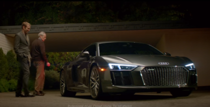 Audi R8 Big Game Commercial (1)