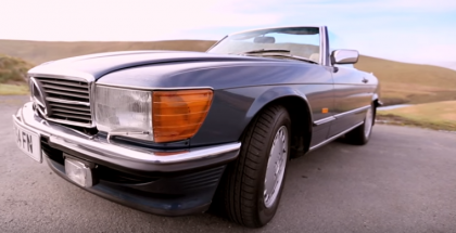 Carfection - Mercedes SL500 R107 History (1)