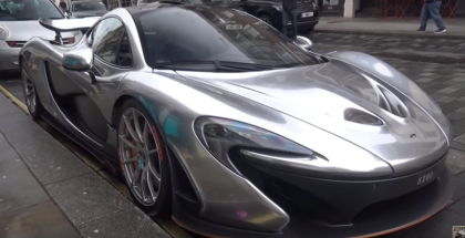 Chrome Mclaren P1 created by McLaren Special Operations (2)