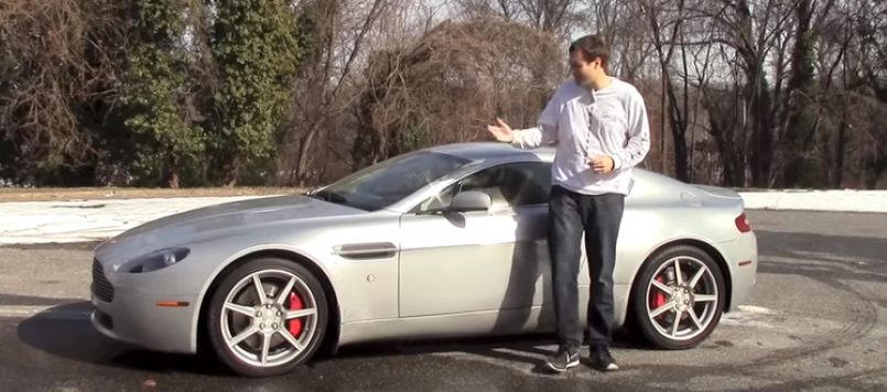 Doug DeMuros Aston Martin Warranty Already Paid For Itself Video - Aston martin warranty