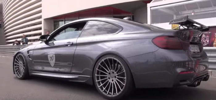 hamann bmw m4 with akrapovic exhaust video dpccars. Black Bedroom Furniture Sets. Home Design Ideas