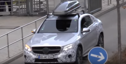 Mercedes GLC Coupe C253 2017 Spied (1)