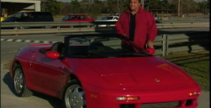 Motorweek - 1991 Lotus Elan Review (1)