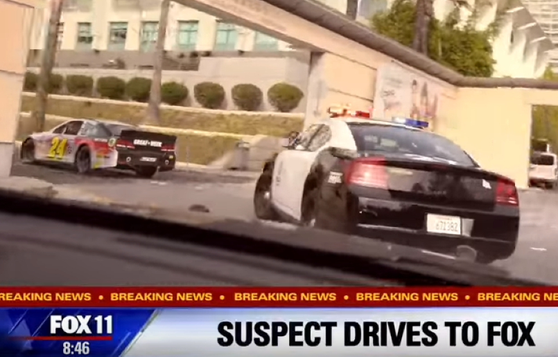 NASCAR high speed chase in Los Angeles – Video | DPCcars