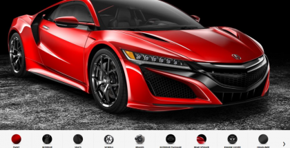 New Acura NSX Configurator Is Out (1)
