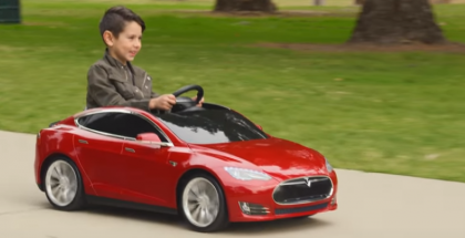 Tesla Model S for Kids (1)