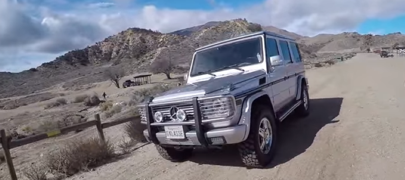 The Smoking Tire Mercedes G500 Off Roading Video Dpccars