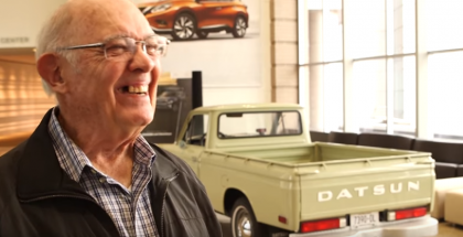 The story of this awesome Datsun 1600 truck (2)