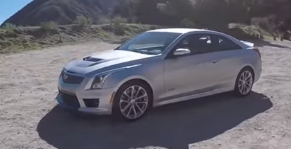 TheSmokingTire - Cadillac ATS-V Coupe 6-Speed Review (2)