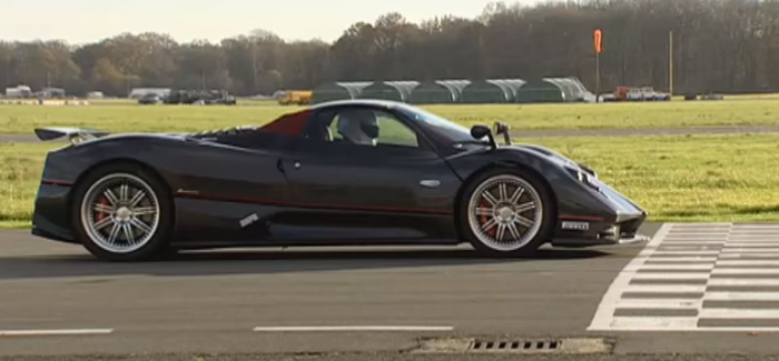 top gear – zonda f vs bugatti veyron – power lap – video | dpccars