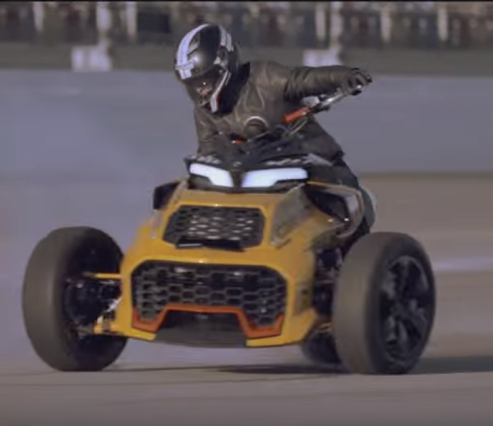 Can-Am Spyder F3 Turbo Concept – Video | DPCcars