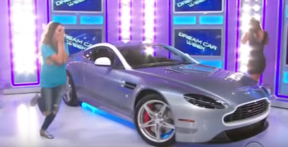 Woman wins Aston Martin on Price is Right (1)