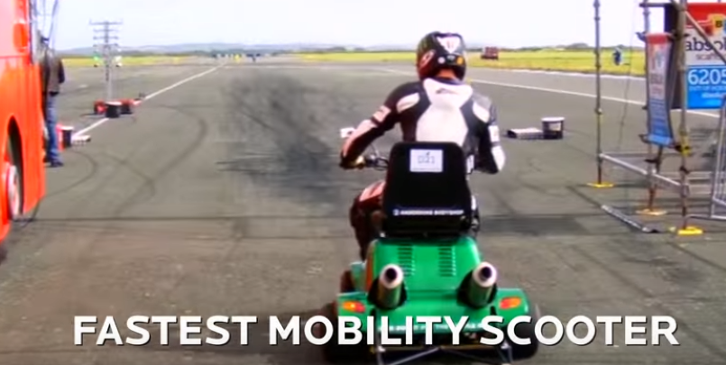 World S Fastest Mobility Scooter Video Dpccars