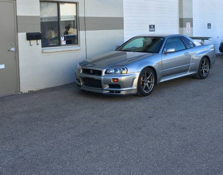 1999 nissan skyline gt r v spec for sale on craigslist. Black Bedroom Furniture Sets. Home Design Ideas