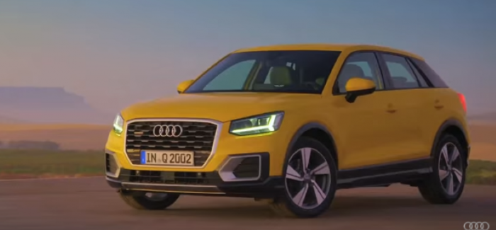 2016 audi q2 promotional video from uk video dpccars. Black Bedroom Furniture Sets. Home Design Ideas