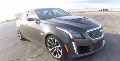 2016 Cadillac CTS-V Track Review (2)
