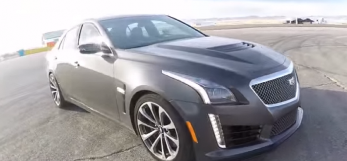 Fantastic 2016 Cadillac CTSV Track Review  Video  DPCcars