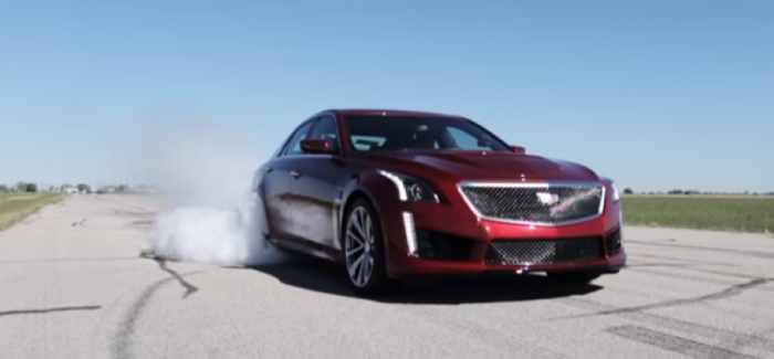 750HP 2016 Cadillac CTS-V HPE750 by Hennessey – 0 to 60 in 3.2 ...