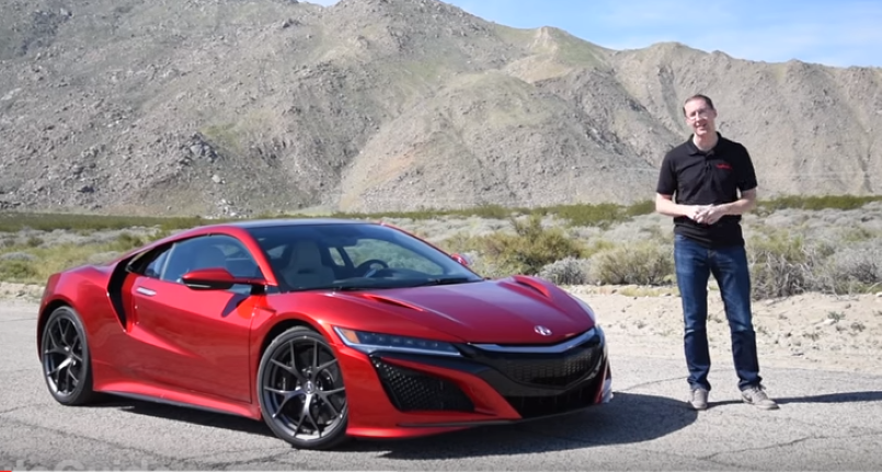 auto guide 2017 acura nsx review video dpccars