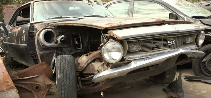 Barn Find Hunter Finds Awesome Car In Savannah GA Video