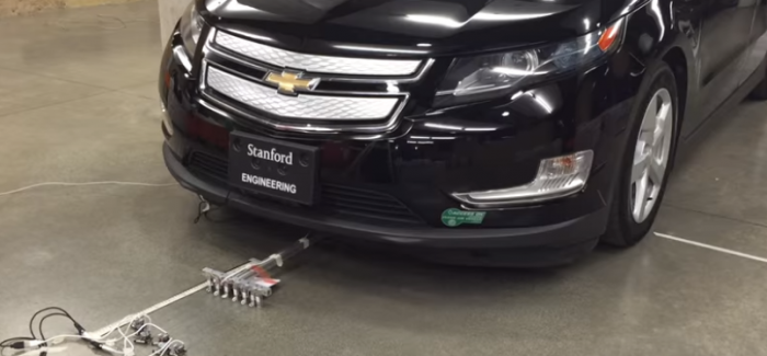 Bug Like Tiny Microrobots Pulls A Car – Video