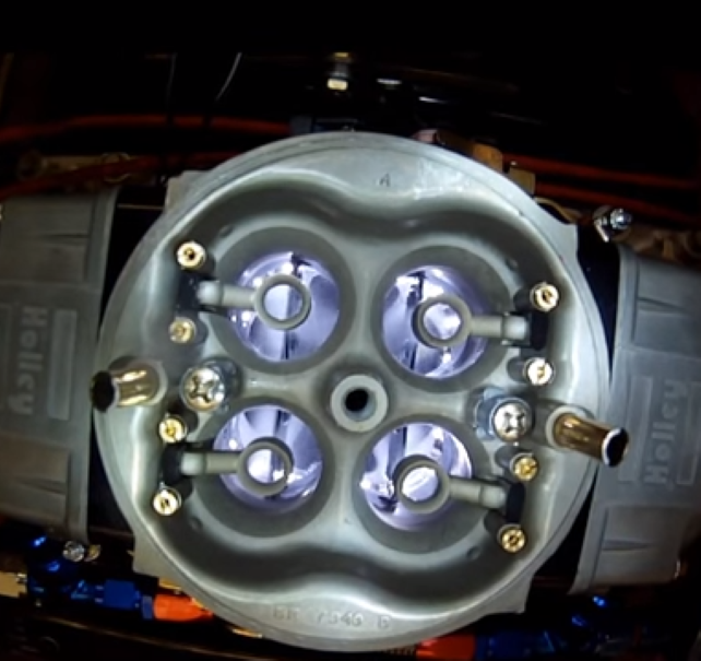 Check Out A Carburetor In Action