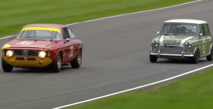 Classic Mini vs Alfa Romeo Epic Race (1)