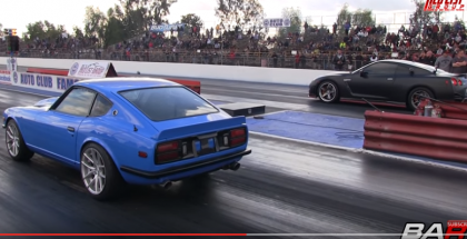Datsun with Supercharged LS1 Test and Tune (1)