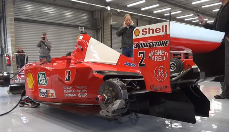 Ferrari F1 F2001 Awesome Engine Sounds Video Dpccars