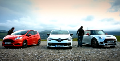 Ford Fiesta ST vs Renault Clio 220 Trophy vs MINI JCW (1)
