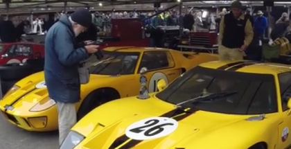 Ford GT40 Gathering At Goodwood 74MM (2)