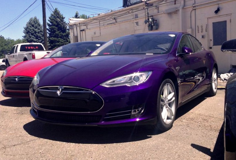 Game Of Thrones George R R Martin Loves His Purple Tesla