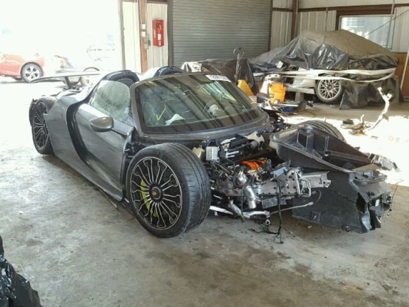 Here is your chance to buy a Porsche 918 for 110 of the price