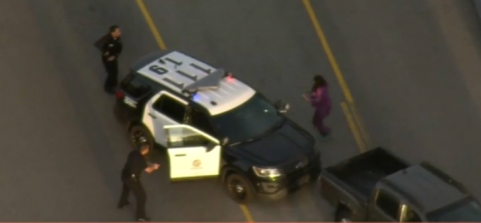 Idiot tries to carjack a police SUV – Video   DPCcars