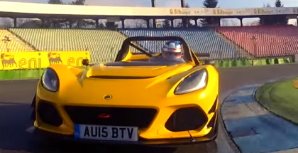 Lotus 3-Eleven faster around Hockenheim then a Porsche 918 (2)