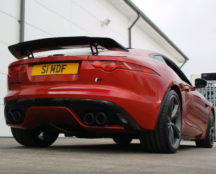 Loud Jaguar F-Type R with Quicksilver Exhaust system – Video | DPCcars