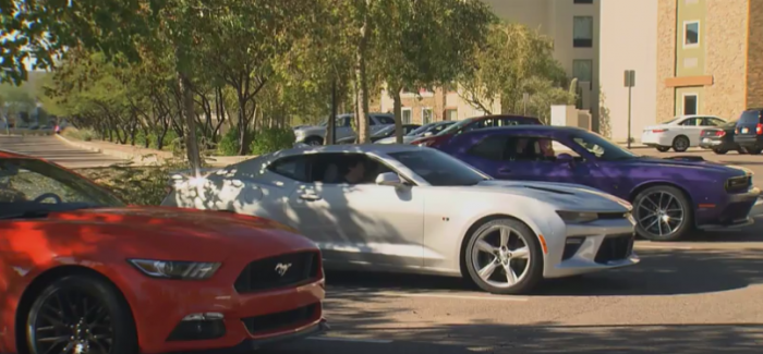 Motorweek 2016 Camaro Ss Vs Mustang Gt Challenger 392 Hemi Pack Video