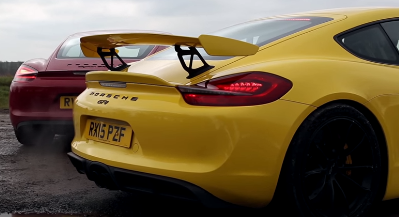 porsche cayman gt4 vs gts review video dpccars. Black Bedroom Furniture Sets. Home Design Ideas