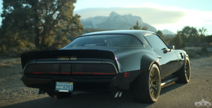 Smokey and the Bandit Pontiac Trans Am Turbo is one awesome machine (1)