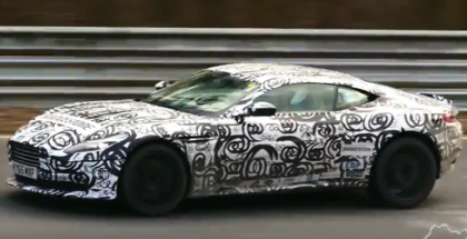 Spied New Aston Martin DB11 and Audi SQ5 and A5 testing at Nordschleife (1)