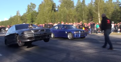 Street Racing in Sweden with lots of traction (1)