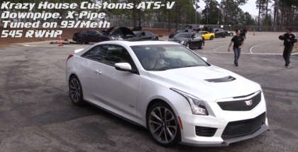 This modified Cadillac ATS-V is fast (1)