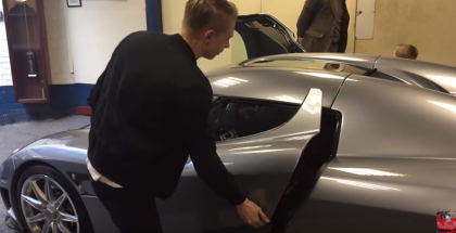 16 year Old Starting and Revving a Koenigsegg CCX (1)
